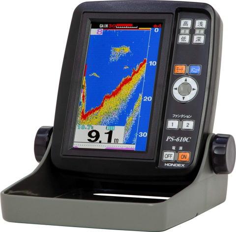 ホンデックス  PS-610C 小型液晶魚探