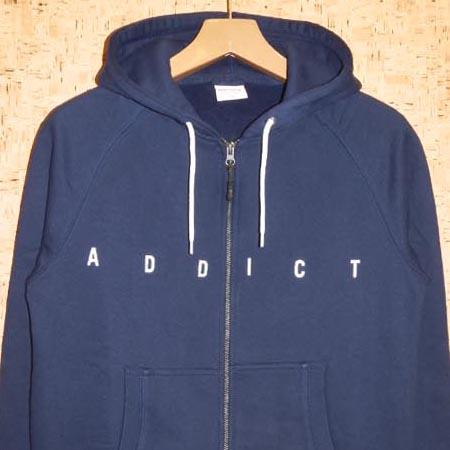 ADDICT [アディクト] ジップパーカーM22406B BASE ZIP HOODY