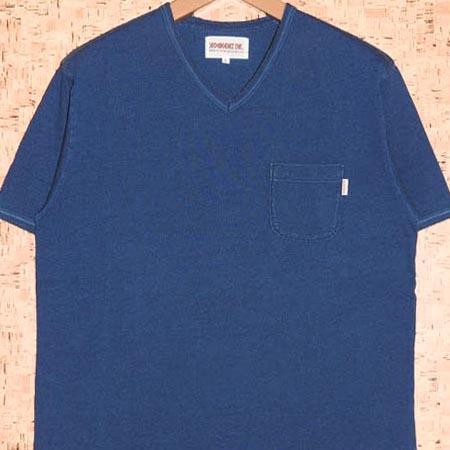 ANIMALIA [アニマリア] TシャツAN17S-CS04 WATER FRONT-V NECKED