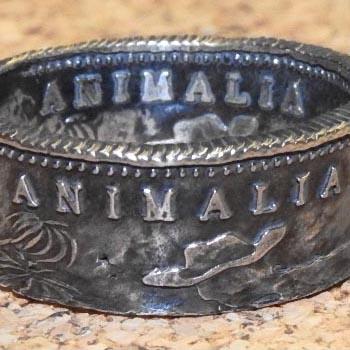 ANIMALIA [アニマリア] 指輪ANIMAL-AC13 CA1849 COIN RING(SILVER925)