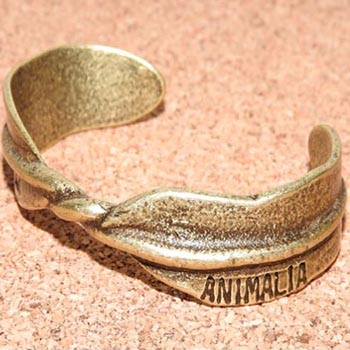 ANIMALIA [アニマリア] バングルAN16U-AC07 ANIMALIA FEAT.LINK-FEATHER BANGLE