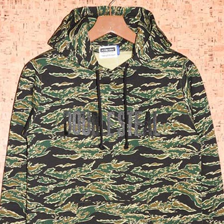 DOUBLE STEAL [ダブルスティール] パーカー965-62001 CAMO PARKER
