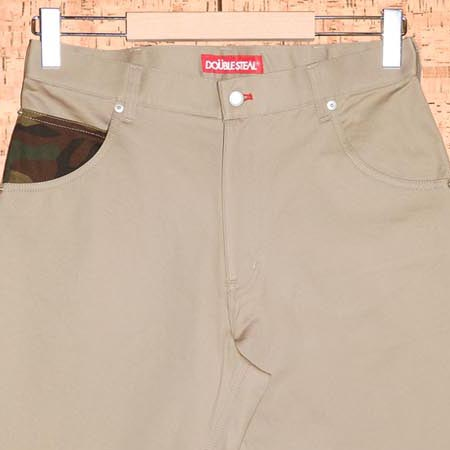 DOUBLE STEAL [ダブルスティール] ショートパンツ773-71002 DOUBLE POCKET SHORTS