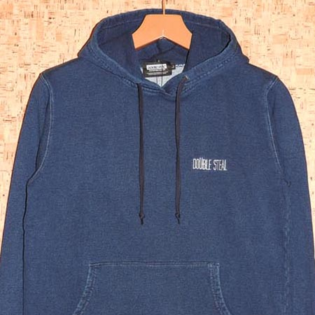 DOUBLE STEAL [ダブルスティール] パーカー964-64253 WASH DENIM SWEAT PARKA