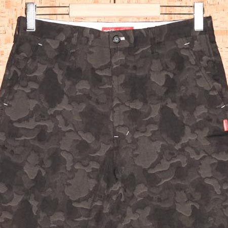 DOUBLE STEAL [ダブルスティール] ショートパンツ752-71002 JACQUARD CAMO HALF PANTS