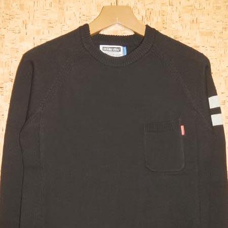 DOUBLE STEAL [ダブルスティール] セーター655-16006 SIDE RIB CREW KNIT