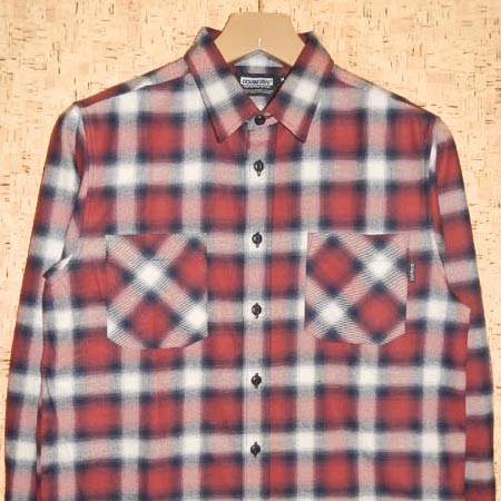 DOUBLE STEAL [ダブルスティール] 長袖シャツ755-35209 OMBER CHECK SHIRT