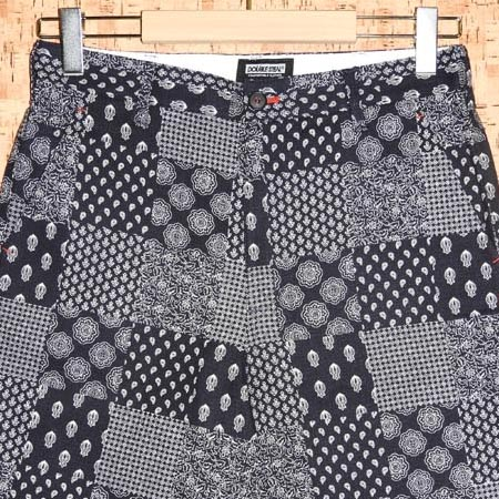 DOUBLE STEAL [ダブルスティール] ショートパンツ761-71201 PATCHWORK SHORTS