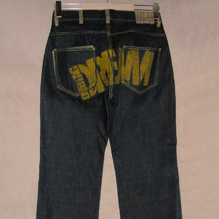 DUBTAG [ダブタグ] デニムパンツDT08FA-PT02 D.R.E.A.M PAINT DENIM PANTS