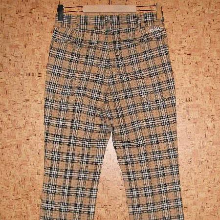 STYLE KEY [スタイルキー] チノパンツSK10SU-PT01 SC1 TRAD CHECK CHINO PANTS