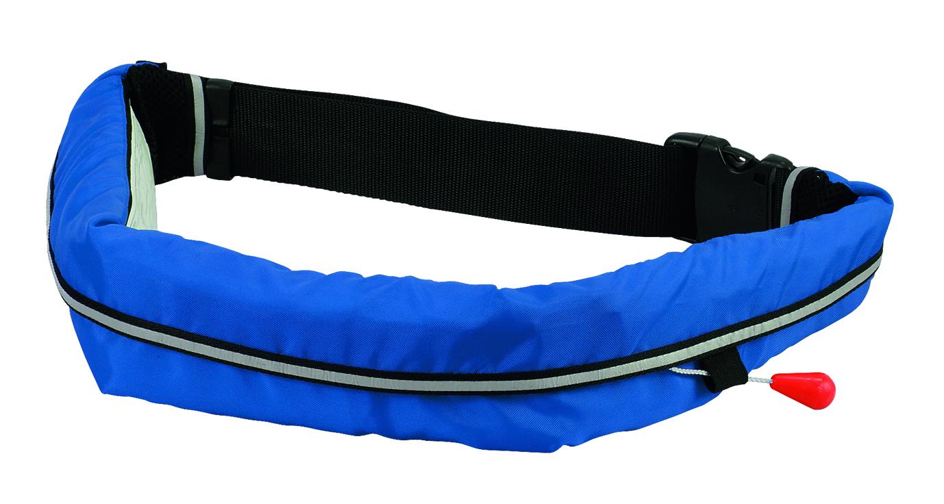 【送料無料】オーシャンライフWR-3型 手動膨張式ライフジャケット ブルー【スタンドアップパドル】【インフレータブル】【緊急浮遊体】【SUPレース】