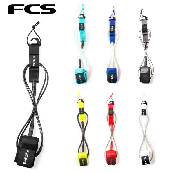 FCS Regular Essential Leash 6' ショートボード 6'サーフィン リーシュ 流れ止め サービス FCS2 数量は多