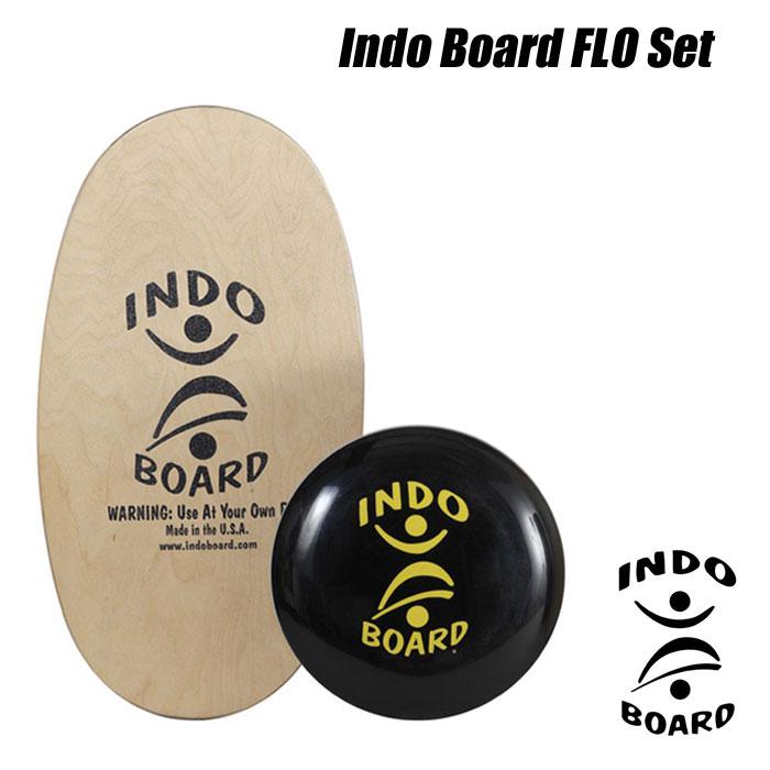 【送料無料】INDO BOARD FLO SETインドゥボード フローセット[HOW TO DVD付]サーフィン オフトレーニングバランスボード エクササイズ