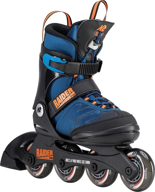 K2インラインスケートRaider Pro BLUE/ORANGEインラインスケート ローラースケートローラーブレード【I190200301】【送料無料】