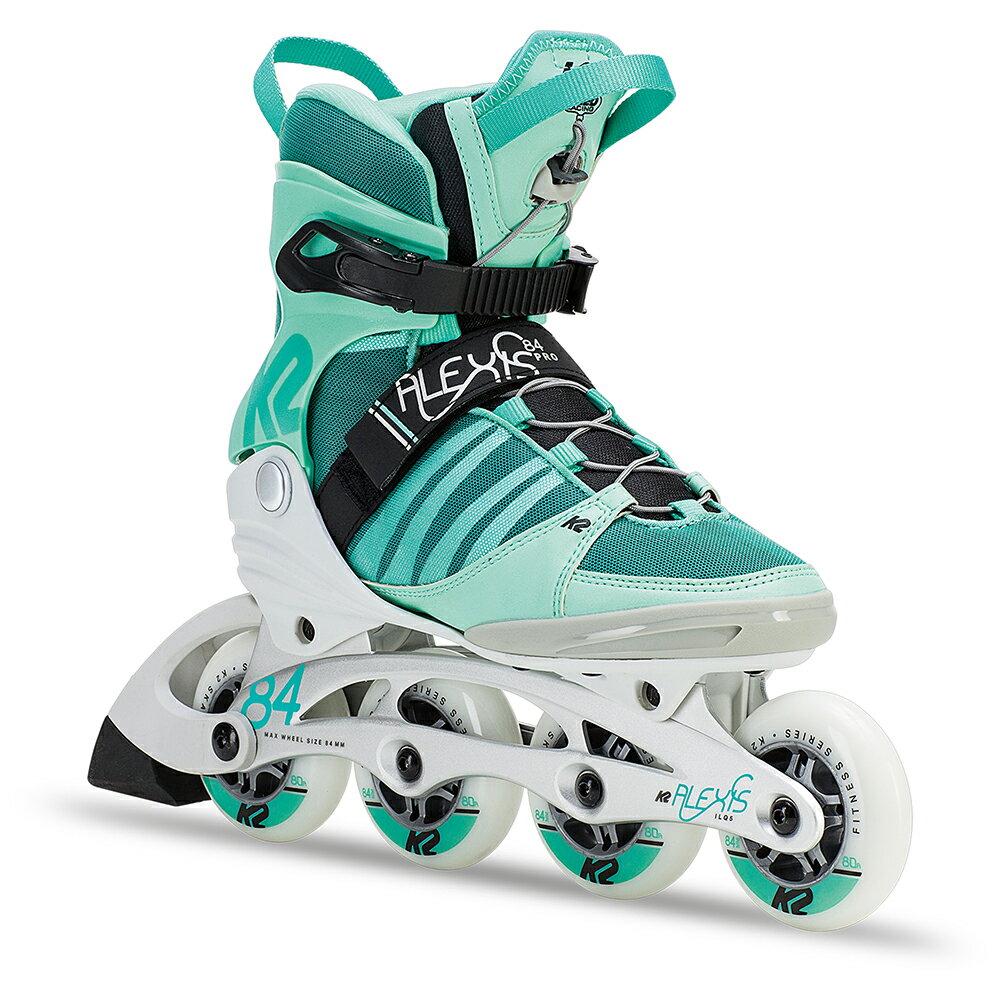 K2インラインスケートALEXIS 84 PRO GREEN/WHITE インラインスケート ローラースケートローラーブレード【I180200801】【送料無料】