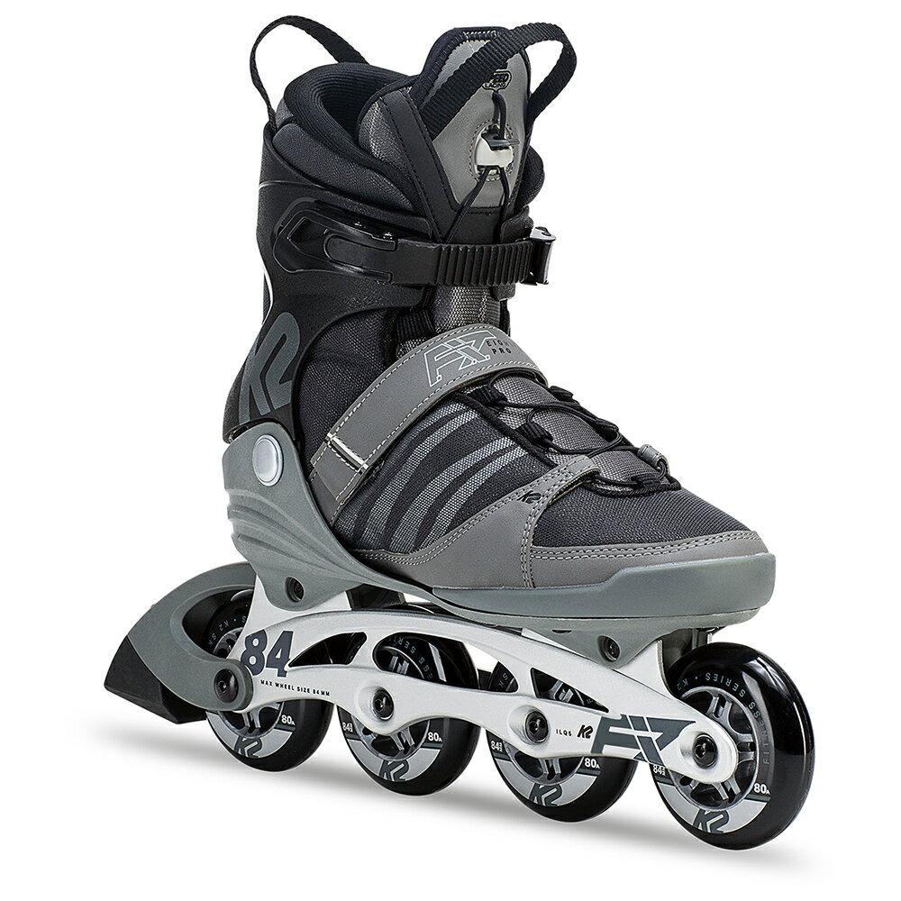 K2インラインスケートF.I.T. 84 PRO GRAY/BLACKインラインスケート ローラースケートローラーブレード【I180200701】【送料無料】
