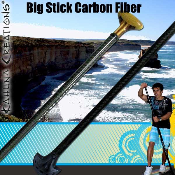 カフナ ビッグスティックKAHUNA BIG STICK CARBON FIBERランドパドル パドルスケートボード SUP スケートボード スケボー SK8 X'mas