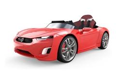 BROON F830 電動 2WD乗用車レッドJDジャパン 乗用玩具ホビー【送料無料】【代引不可】