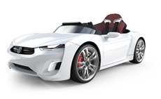 BROON F830 電動 2WD乗用車 ホワイトJDジャパン 乗用玩具ホビー【送料無料】【代引不可】