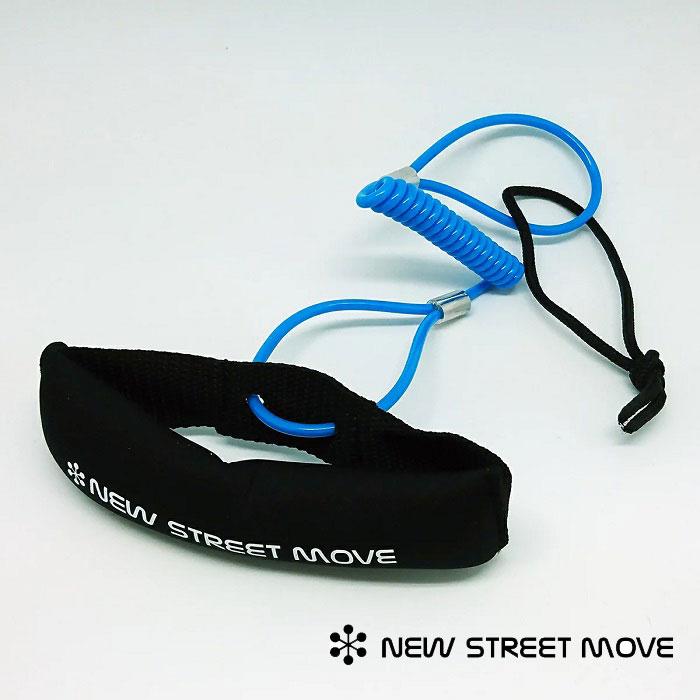 NEW STREET MOVE 限定モデル 超激安特価 ASSIST EXTENSION アシストエクステンション スケートボード用リーシュコード アクセサリー リーシュ スケボー