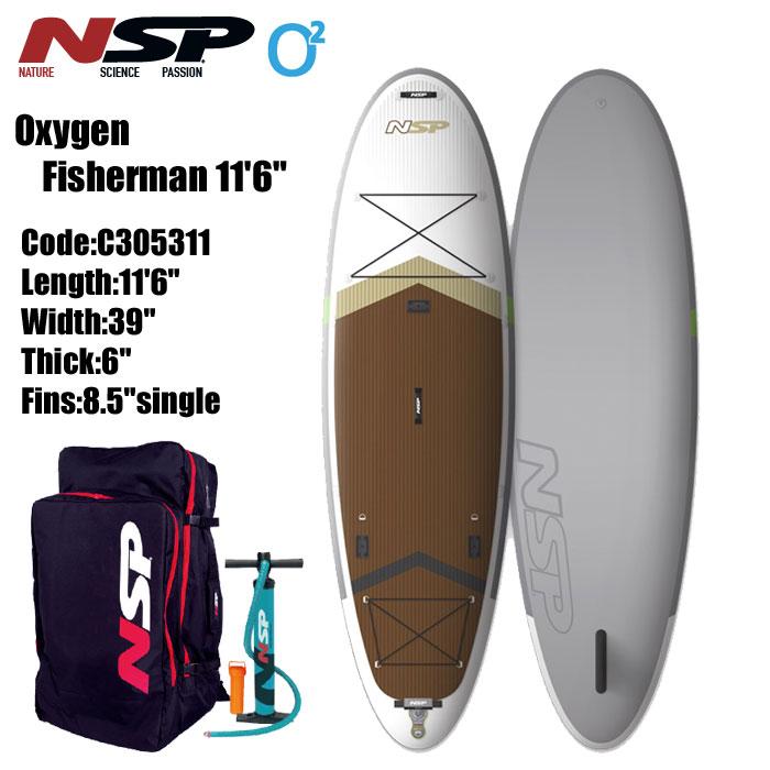 【ラッピング不可】 【夏のクリアランスセール】NSP Oxygen FISHRMANn FISHRMANn 11'6