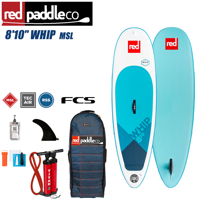 2018-2019 REDPADDLE WHIP 8'10