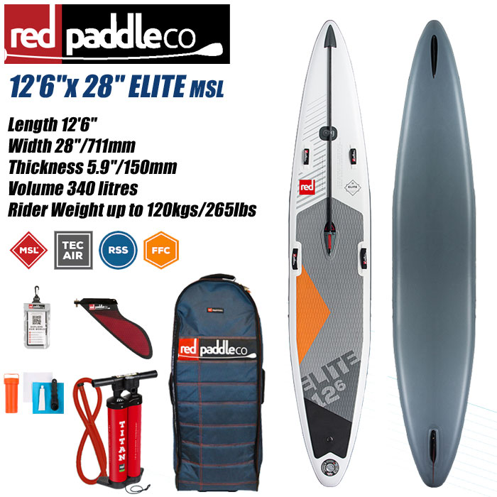 2018 REDPADDLE ELITE 12'6