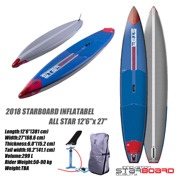 【大放出セール】 2018 STARBOARD INFLATABEL ALL STAR AIRLINE 12'6