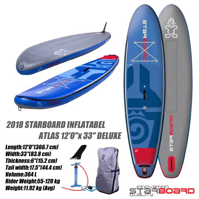 即日発送 2018 STARBOARD INFLATABEL ATLAS 12'0