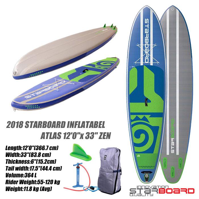 【セール】 2018 STARBOARD INFLATABEL ATLAS 12'0