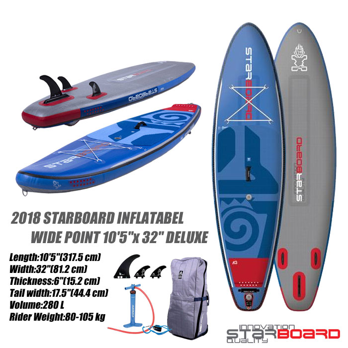代引き人気 2018 STARBOARD INFLATABEL WIDE POINT 10'5