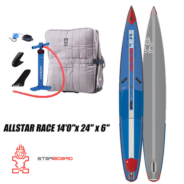 2019 STARBOARD INFLATABEL ALL STAR AIRLINE 14'0