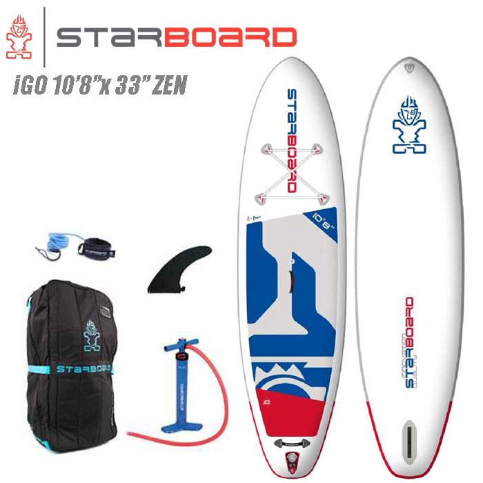 【電動ポンププレゼント】2020 STARBOARD INFLATABEL iGO 10'8