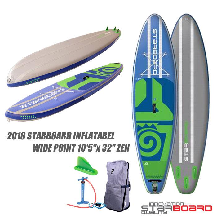 【フローティングベストプレゼント】2018 STARBOARD INFLATABEL WIDE POINT 10'5