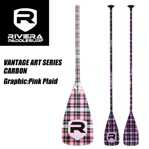 RIVIERA PADDLE ART SERIES PINK PLAID【インフレータブルサップ】【SUP】【パドル】