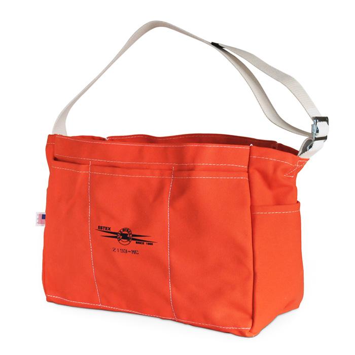 ESTEX(エステックス)2193-MC CANVAS TOOL BAG オレンジキャンバスショルダーツールバッグ