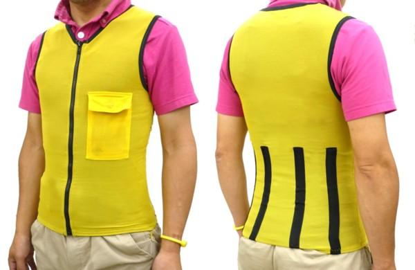 腰痛を軽減!「アグリパワースーツ」前傾姿勢が多い農作業で腰や背中にかかる負担を軽減します。NHKまちかど情報室で紹介されました。