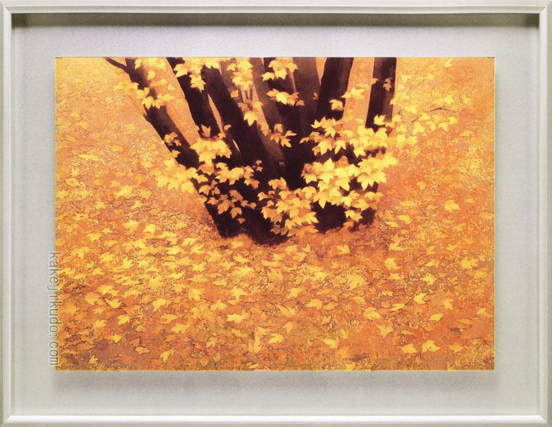東山魁夷 絵画 行く秋 送料無料【複製】【美術印刷】【巨匠】【変型特寸】