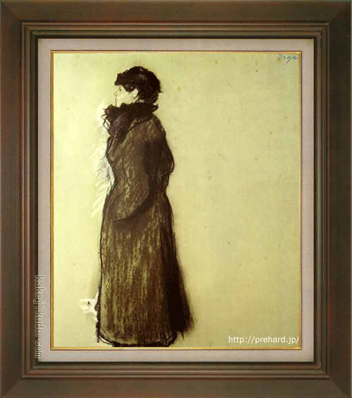 ドガ 絵画 エレン・アンドレ F8号 送料無料 【複製】【美術印刷】【世界の名画】【8号】