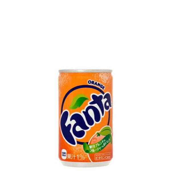 全国送料無料 ファンタオレンジ160ml缶×30本×5ケース 代金引換不可 コカコーラ製品