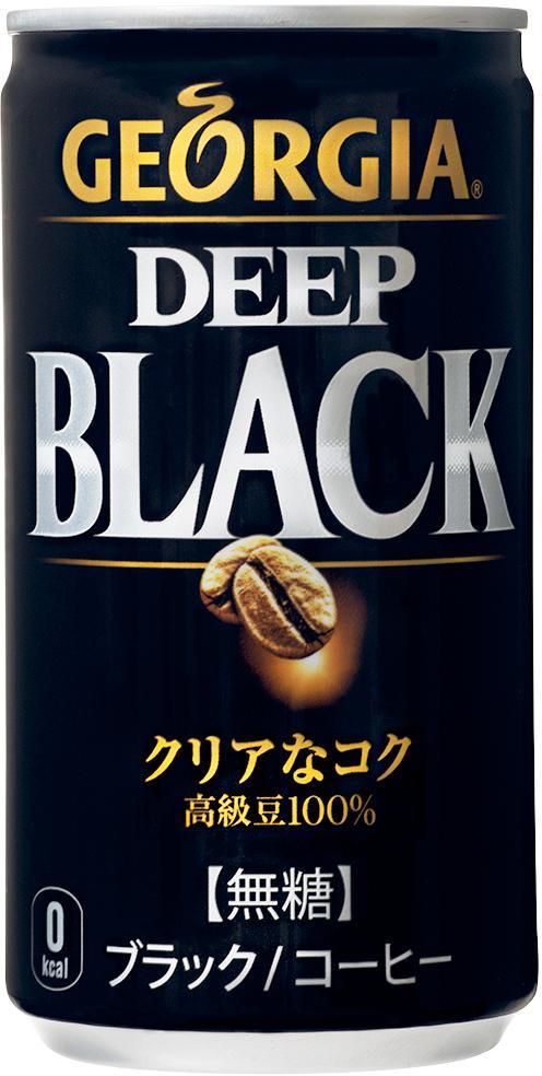 全国送料無料 ジョージア ディープブラック185g缶×30本×3ケース 代金引換不可 コカコーラ製品