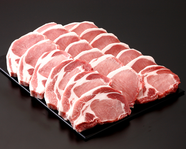 男女兼用 琉球在来種 アグー豚種 をもとに開発された あぐー豚 おすすめ特集 《沖縄県産》あぐー豚 ロース 012564 500g 100g×5枚 テキ カツ用 CT