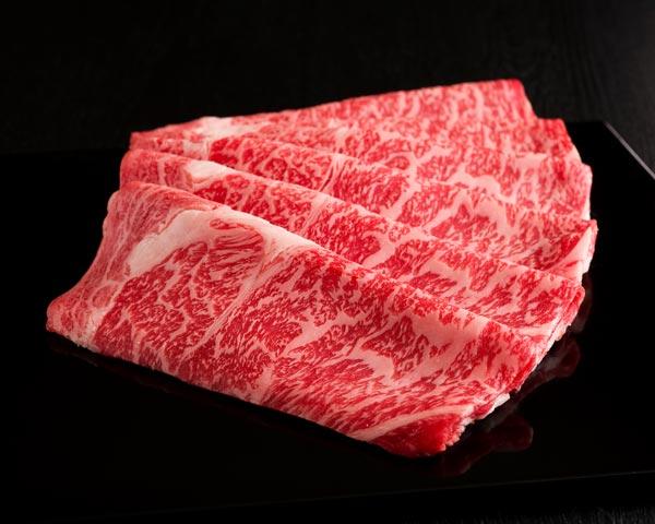 《国内産》黒毛和牛 (リブロース) すき焼 1,000g(CT) 008868