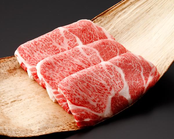 《三重県産》松阪牛(リブロース)すき焼 500g(竹皮) 046009