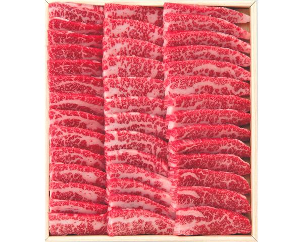 【送料無料】TY-120《国内産》黒毛和牛(バラ)焼肉750g(箱)【楽ギフ_のし】 90151