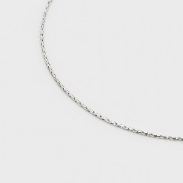 K18 ホワイトゴールド オメガネックレス 日本製ネックレス ゴールド k18 18k 18金 レディース ジュエリー ギフト プレゼント ラッピング 送料無料