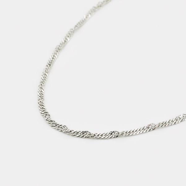 Pt850プラチナ ネックレス 日本製ネックレス プラチナ ゴールド レディース 女性 ジュエリー ギフト プレゼント ラッピング 送料無料