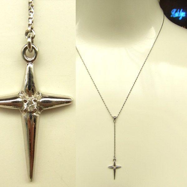 プラチナ ダイヤモンド クロス プチネックレス 日本製ネックレス ダイアモンド 十字架 プラチナ レディース ジュエリー ギフト プレゼント ラッピング 送料無料