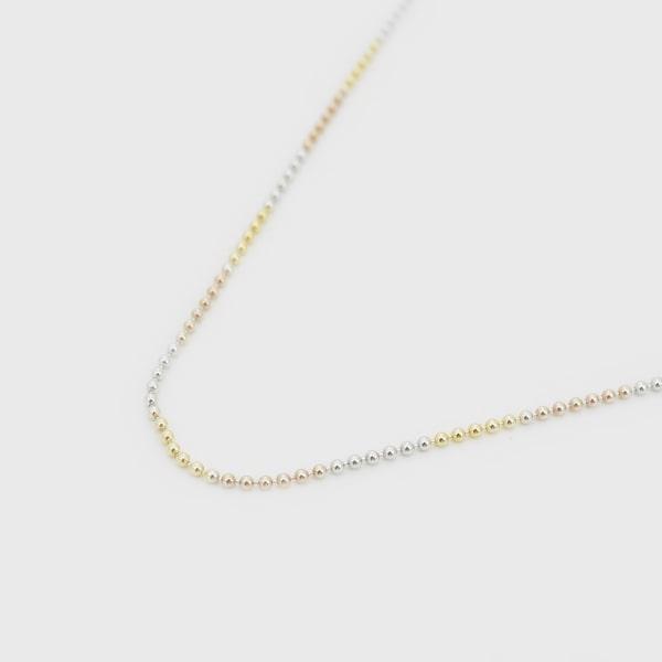 K18 イエロー・ホワイト・ピンクゴールド ネックレス 日本製ネックレス K18 18k 18K 18金 ゴールド レディース 女性 ジュエリー ギフト プレゼント ラッピング 送料無料