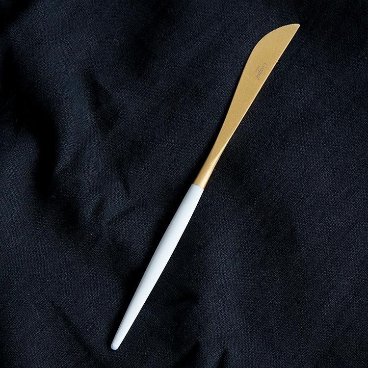 クチポール GOA ゴア ホワイト ゴールド GO03GW テーブルナイフ